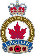 Logo for Orillia Legion Branch 34